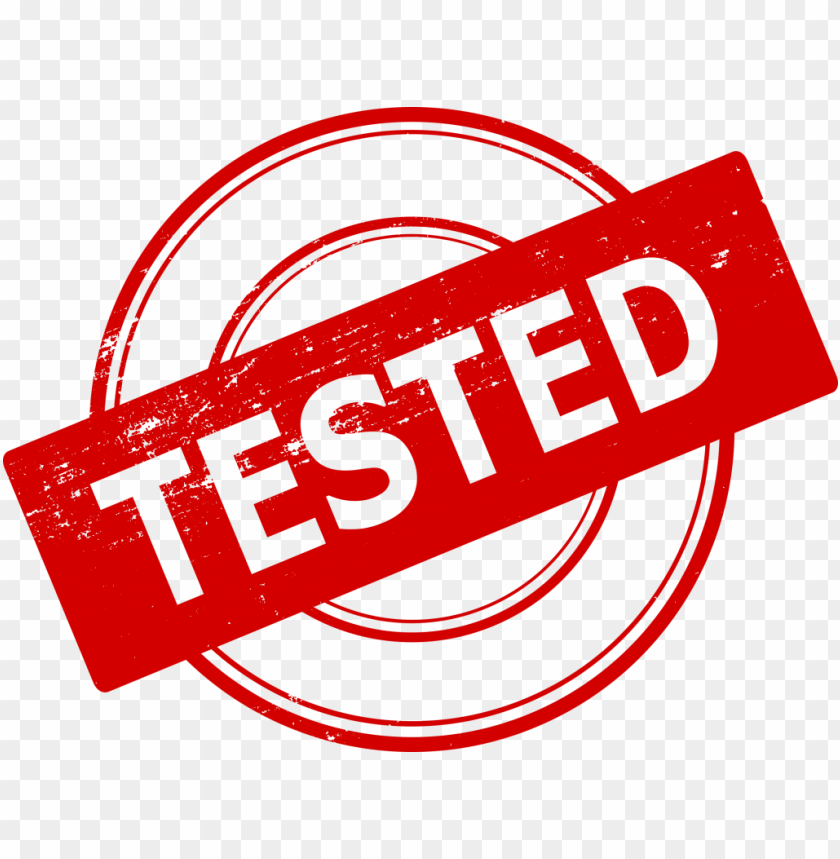 free PNG Tested Stamp png - Free PNG Images PNG images transparent
