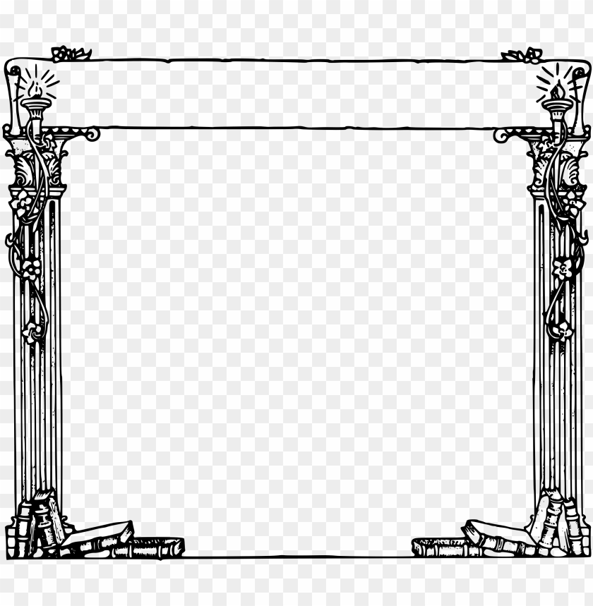 free PNG text box frame png pic - roman borders clip art PNG image with transparent background PNG images transparent