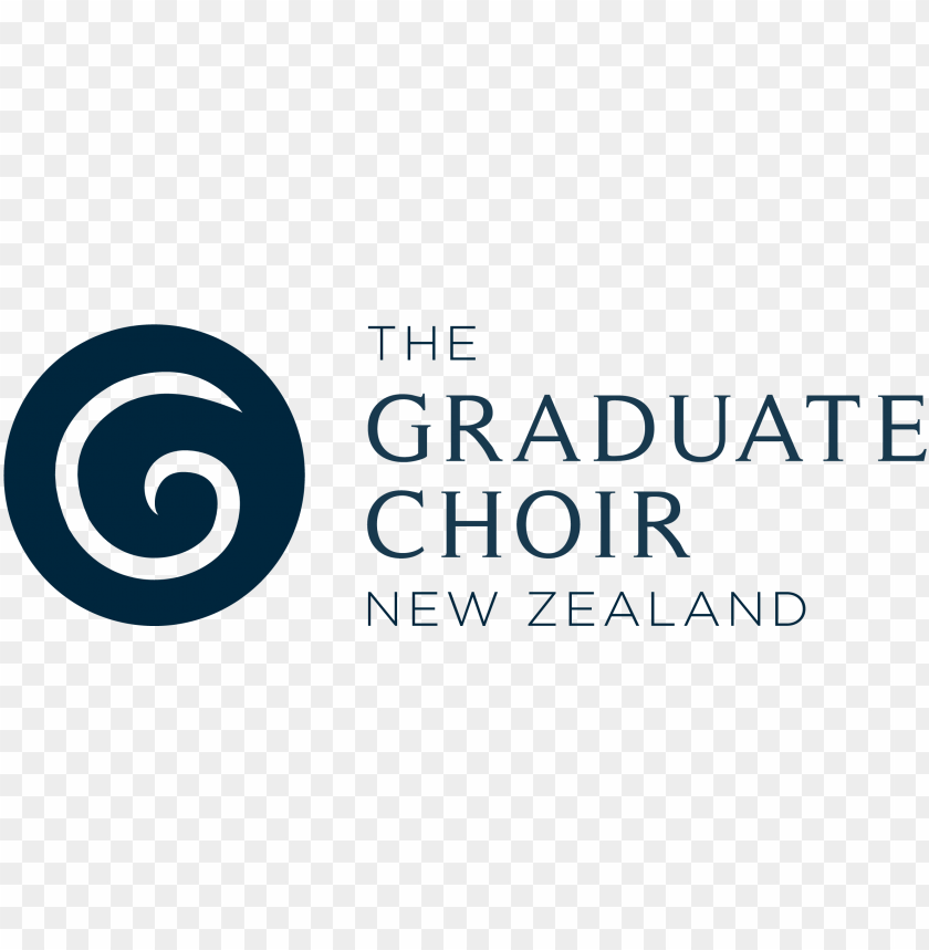 free PNG tgcnz new koru logo navy no gradient 300dpi - choir PNG image with transparent background PNG images transparent