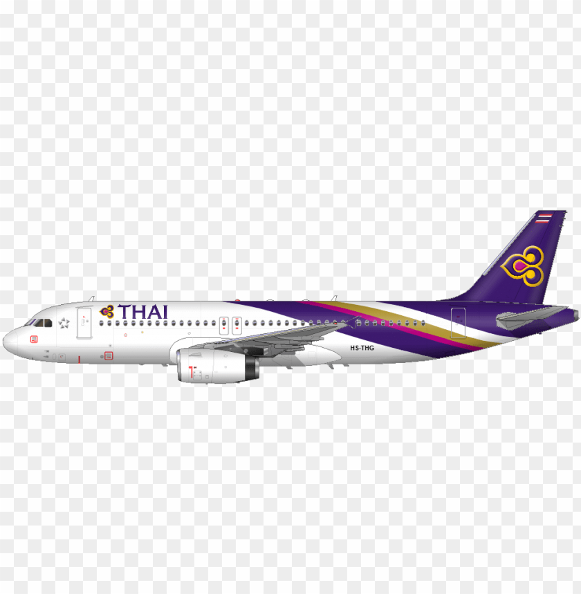 thai plane png - thai airways plane PNG image with transparent background@toppng.com