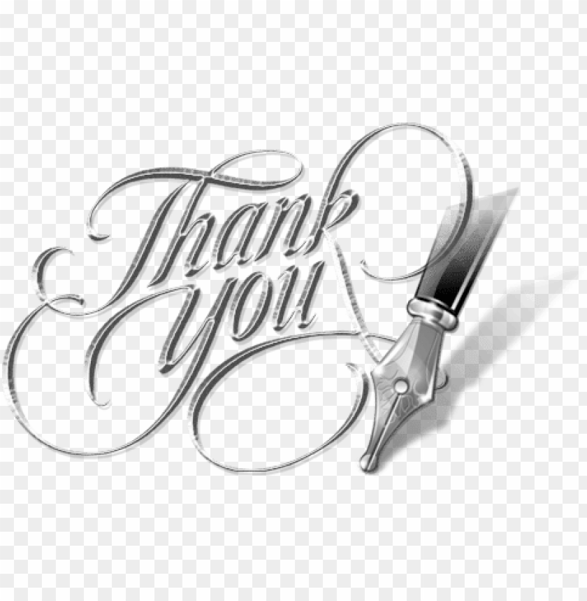Thank You Pen Png Image With Transparent Background Toppng