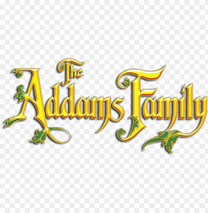 free PNG the addams family movie logo - addams family movie logo PNG image with transparent background PNG images transparent