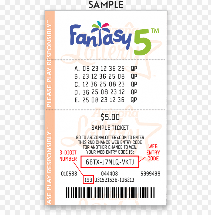 free PNG the arizona lottery recommends entering your web entry - arizona lottery tickets PNG image with transparent background PNG images transparent