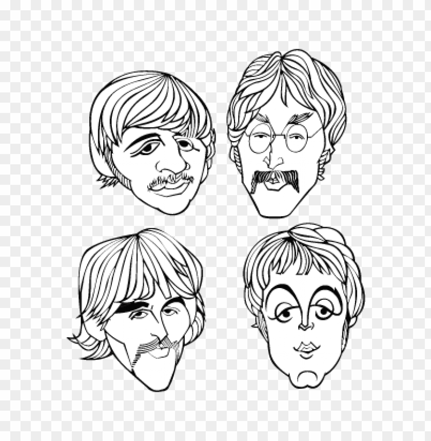 free PNG the beatles band vector logo free PNG images transparent