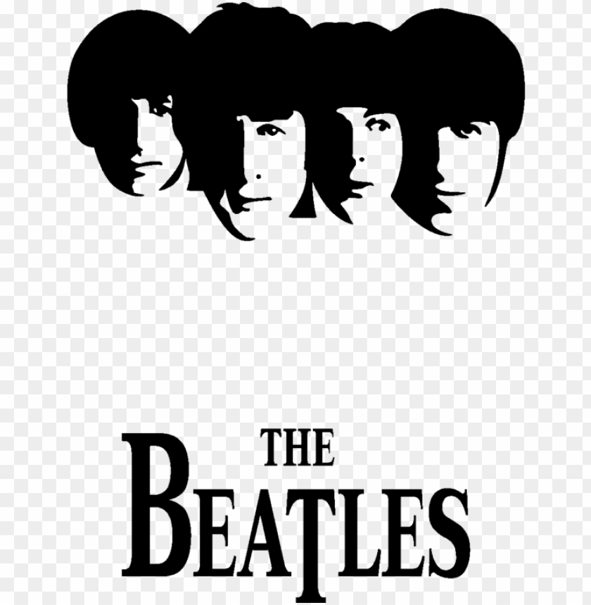 free PNG the beatles song music love others transprent - beatles silhouette PNG image with transparent background PNG images transparent