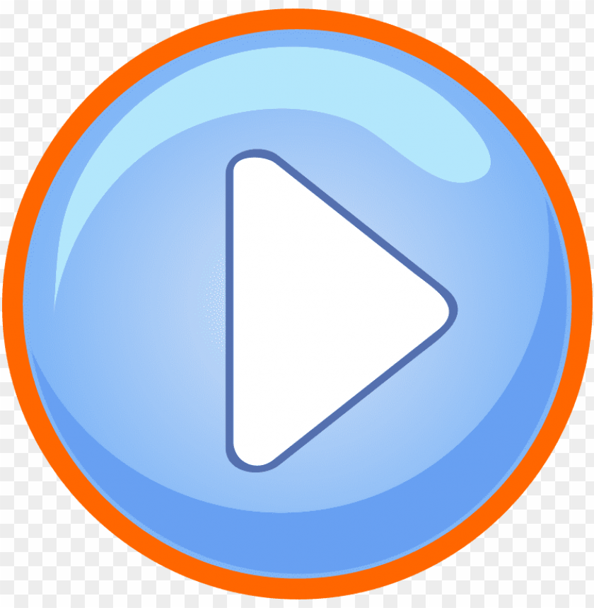 free PNG the blue play button has the focus - game play button PNG image with transparent background PNG images transparent