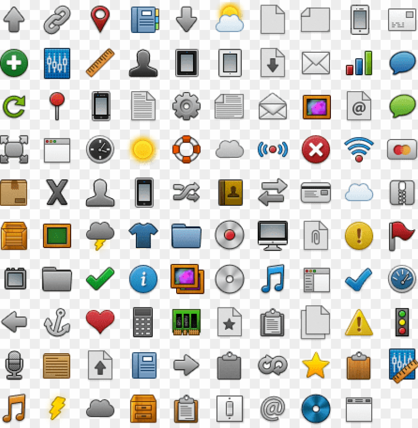 free PNG the clean desk icon pack by alfred pereira - icon clean desk png - Free PNG Images PNG images transparent