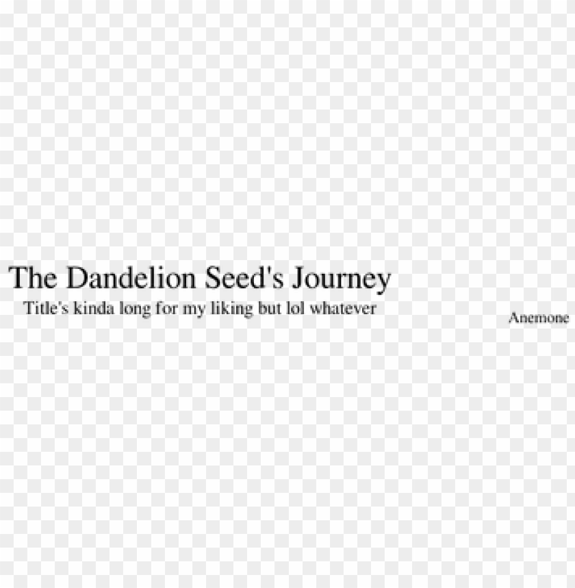 free PNG the dandelion seed's journey sheet music for flute, - sheet music PNG image with transparent background PNG images transparent