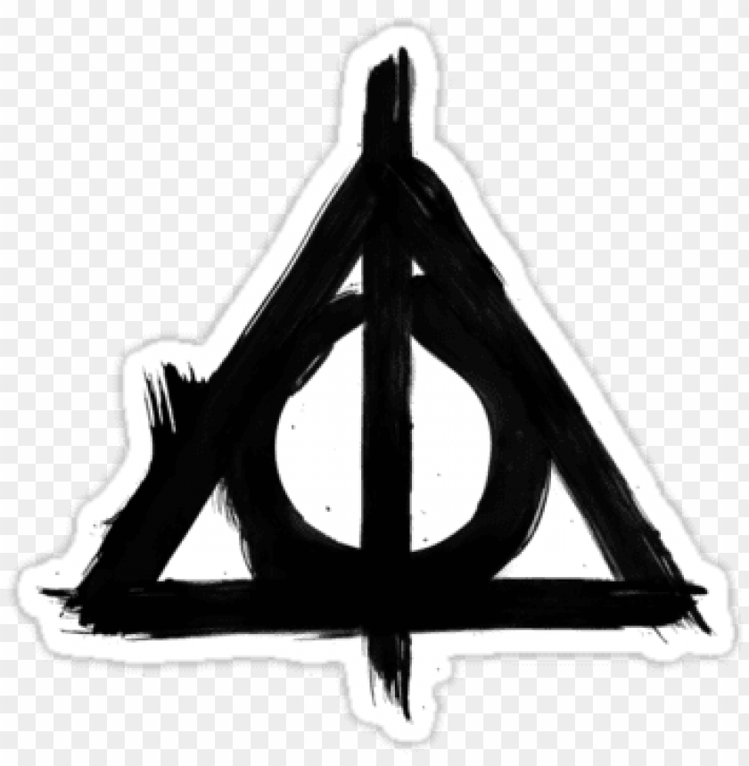 free PNG the deathly hallows symbol rebelcollective ۼ portfolio - hallows symbol png the deathly hallows PNG image with transparent background PNG images transparent