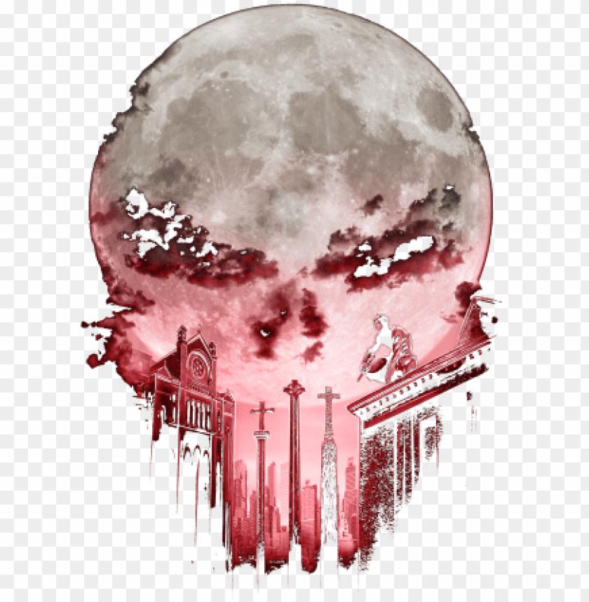 The Devil S Punishment Halloween Skull Punisher T Shirt Scary