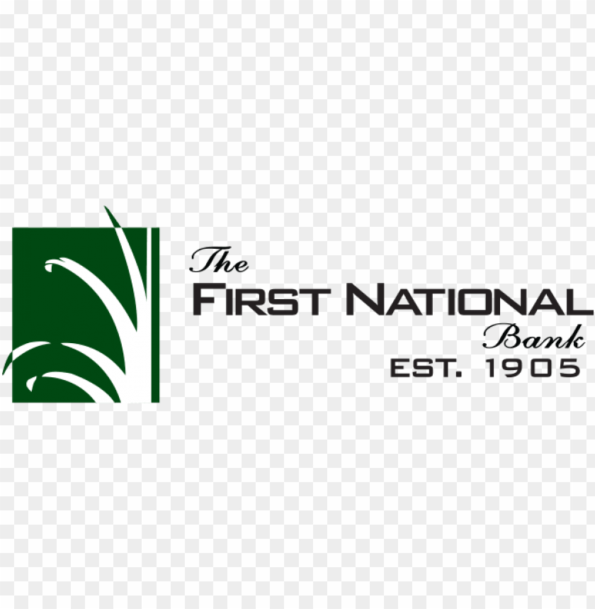 free PNG the first national bank - first national bank logo PNG image with transparent background PNG images transparent