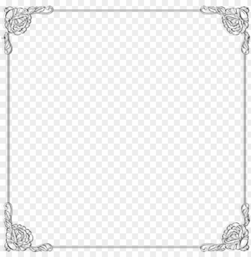 free PNG the gallery for > silver frames and borders elegant - silver frame png transparent PNG image with transparent background PNG images transparent