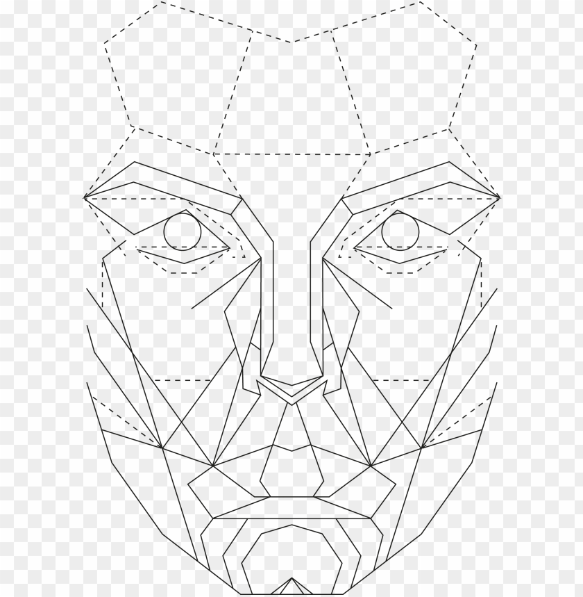 free PNG the golden ratio in graphic - perfect female face template PNG image with transparent background PNG images transparent