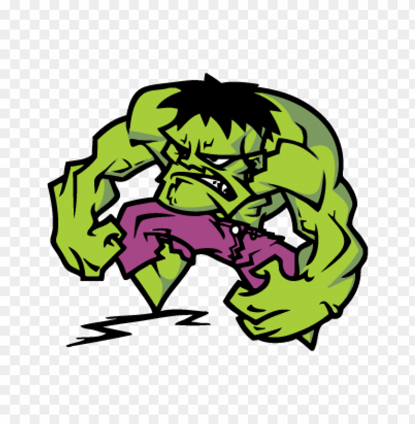 The Hulk Vector Free Download Toppng