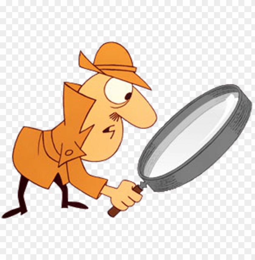 free PNG the inspector jacques clouseau with your big magnifying - inspector clouseau pink panther PNG image with transparent background PNG images transparent