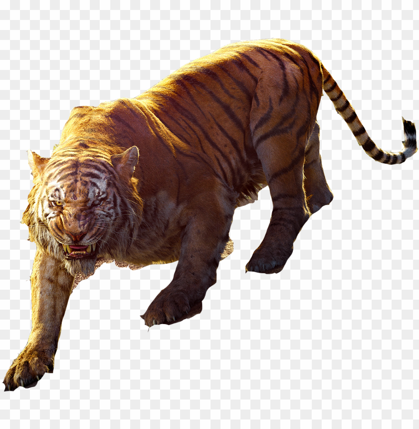 free PNG the jungle book 2016 shere khan poster - jungle book shere khan transparent PNG image with transparent background PNG images transparent