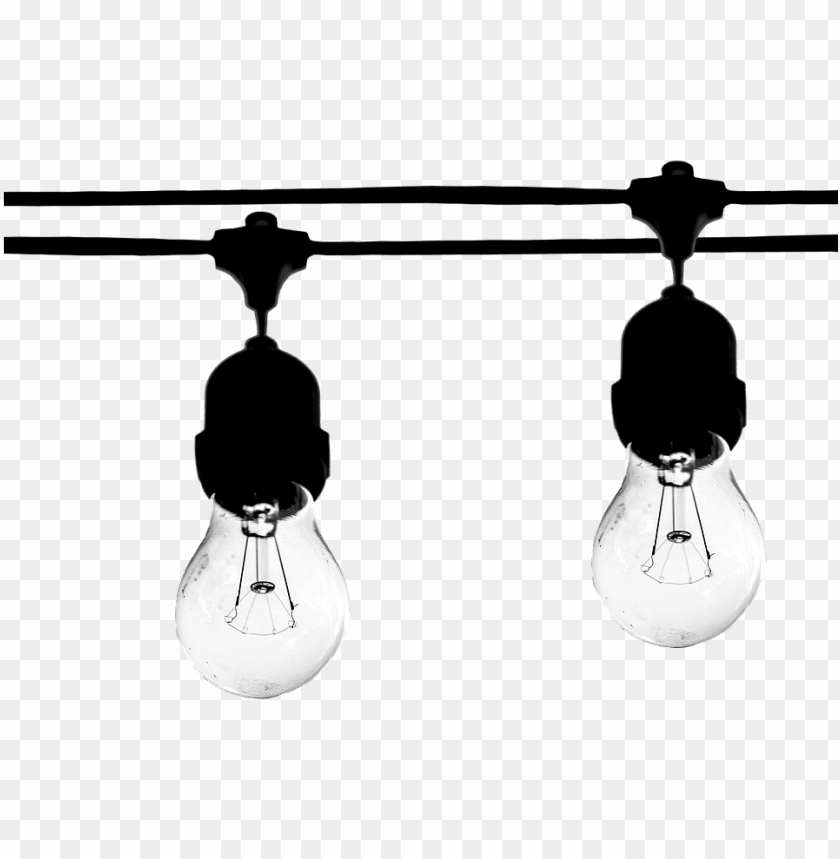 free PNG the light bulb, light bulb, light, electric, energy - รูป png ขาว ดำ PNG image with transparent background PNG images transparent
