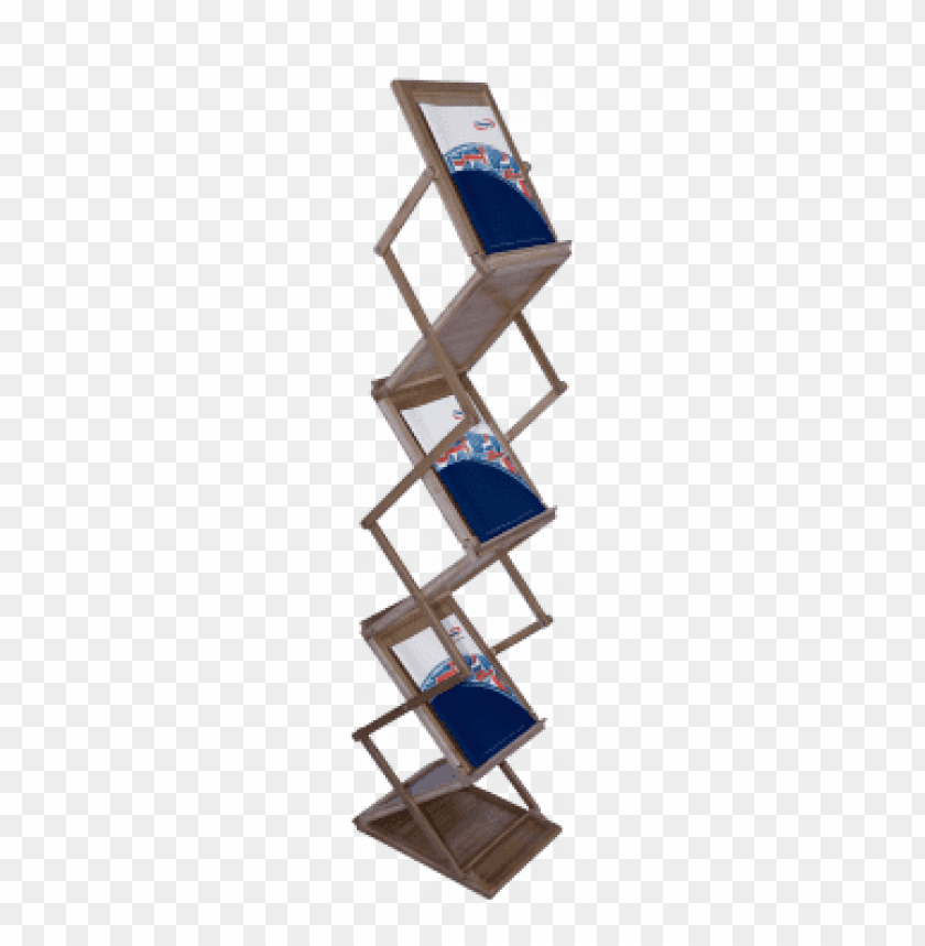 free PNG the literature rack bamboo is our eco-friendly version, - brochure rack 3d model free download PNG image with transparent background PNG images transparent