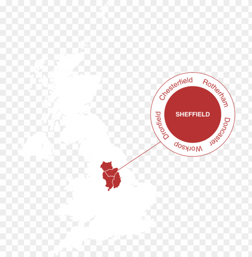 free PNG the map of england showing location of sheffield PNG image with transparent background PNG images transparent