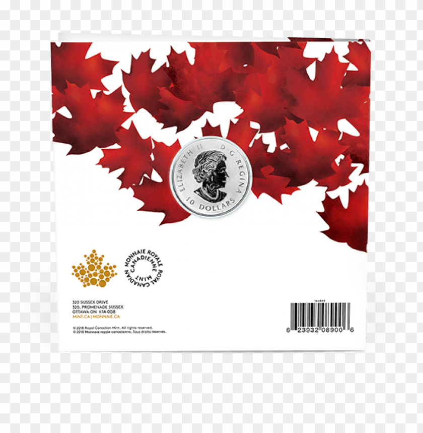 free PNG the maple leaf coin - royal canadian mint PNG image with transparent background PNG images transparent