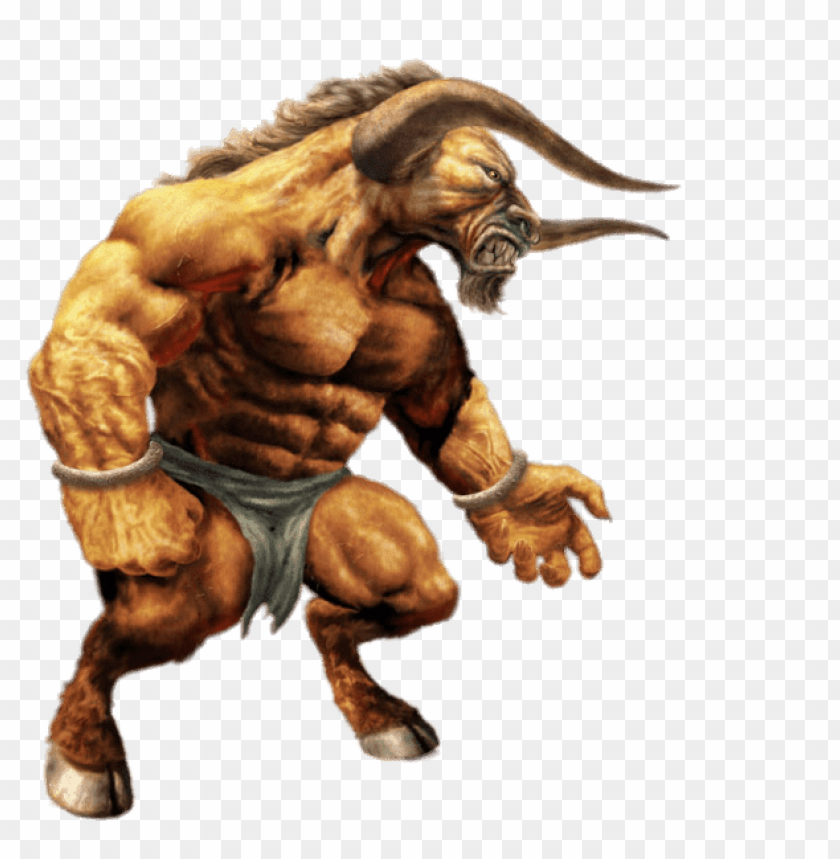 free PNG the mighty minotaur PNG image with transparent background PNG images transparent