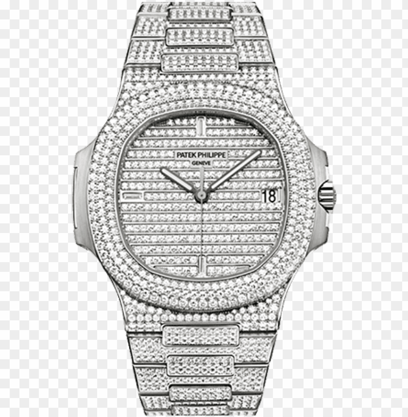 free PNG the nautilus collection first introduced by patek philippe - patek philippe nautilus iced out PNG image with transparent background PNG images transparent