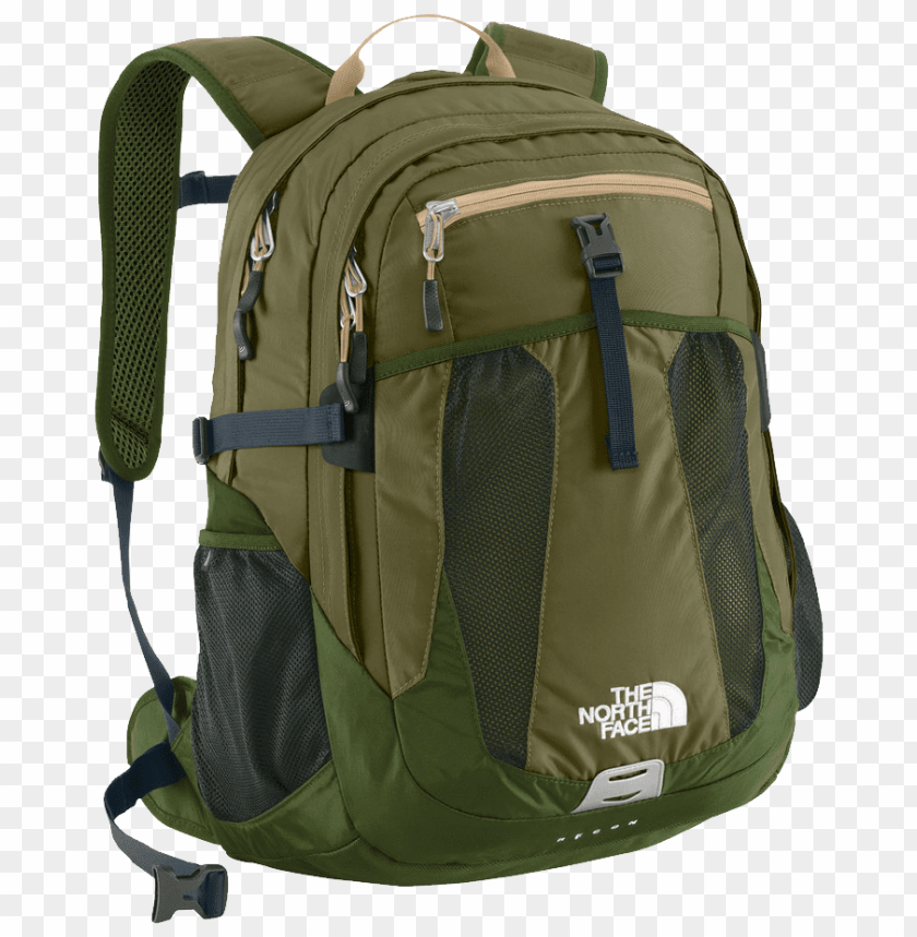 free PNG the north face recon burnt olive green png - Free PNG Images PNG images transparent