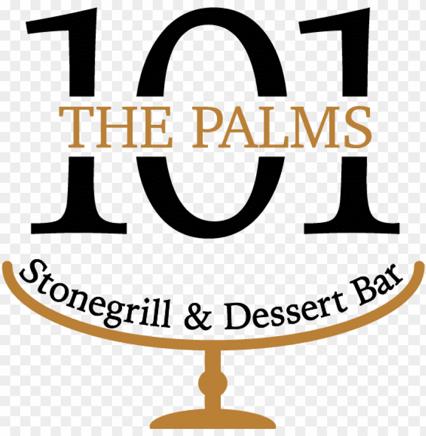 free PNG the palms 101 logo the palms 101 logo - dessert bar PNG image with transparent background PNG images transparent