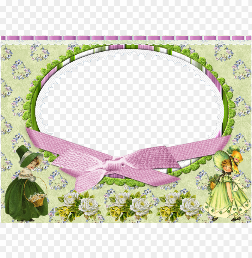 free PNG the peanut shell piece baby girl crib bedding set coral - cute green frame PNG image with transparent background PNG images transparent