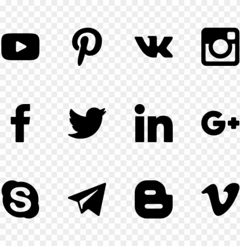 free PNG the power of social media - social media icon website png - Free PNG Images PNG images transparent