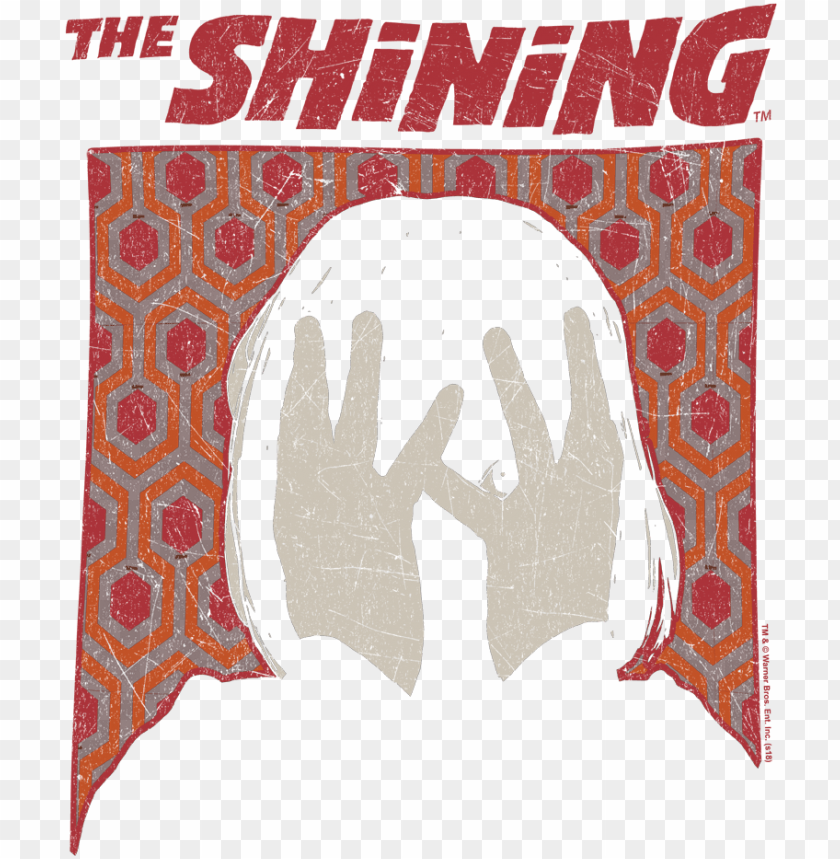 free PNG the shining danny women's t-shirt - shining movie poster PNG image with transparent background PNG images transparent