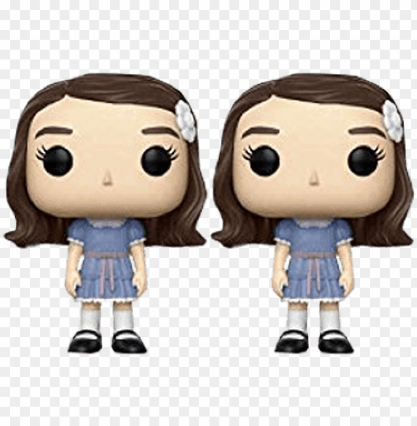 free PNG the shining the grady twins - shining twins funko po PNG image with transparent background PNG images transparent