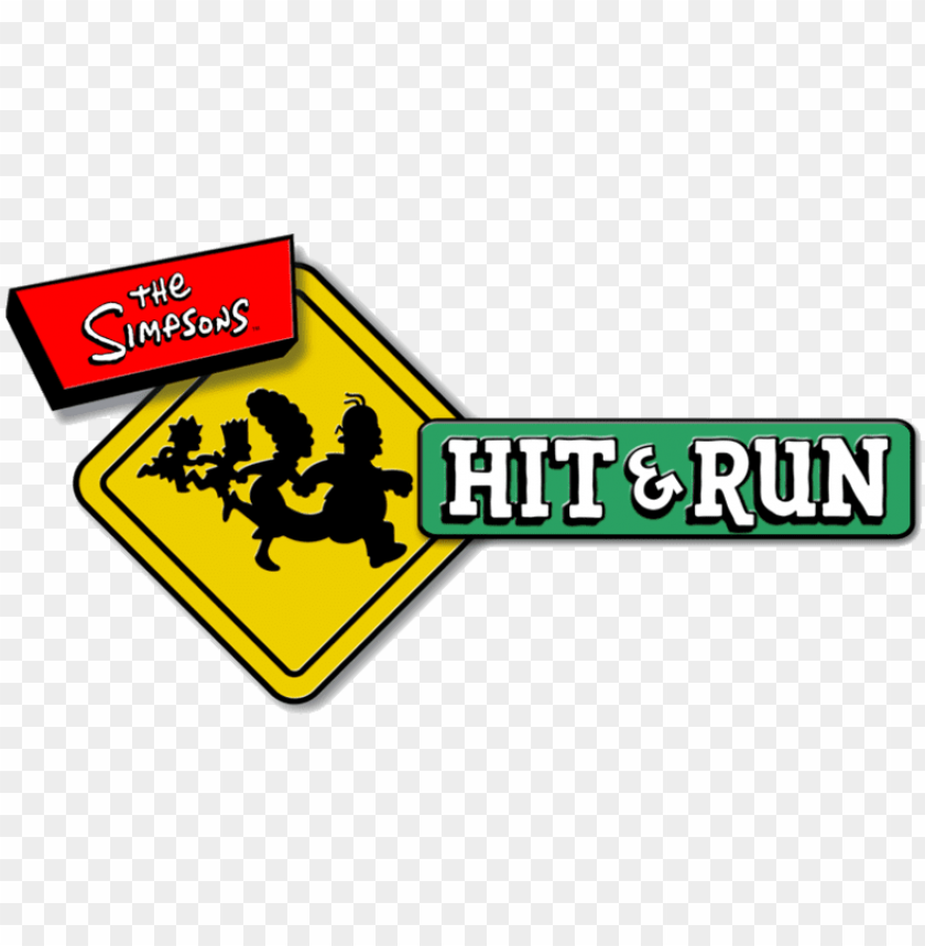 free PNG the simpsons hit and run logo - simpsons hit and run logo PNG image with transparent background PNG images transparent
