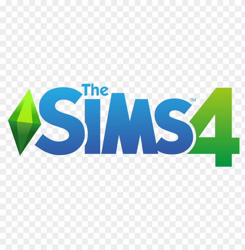 free PNG the sims 4 logo png - Free PNG Images PNG images transparent