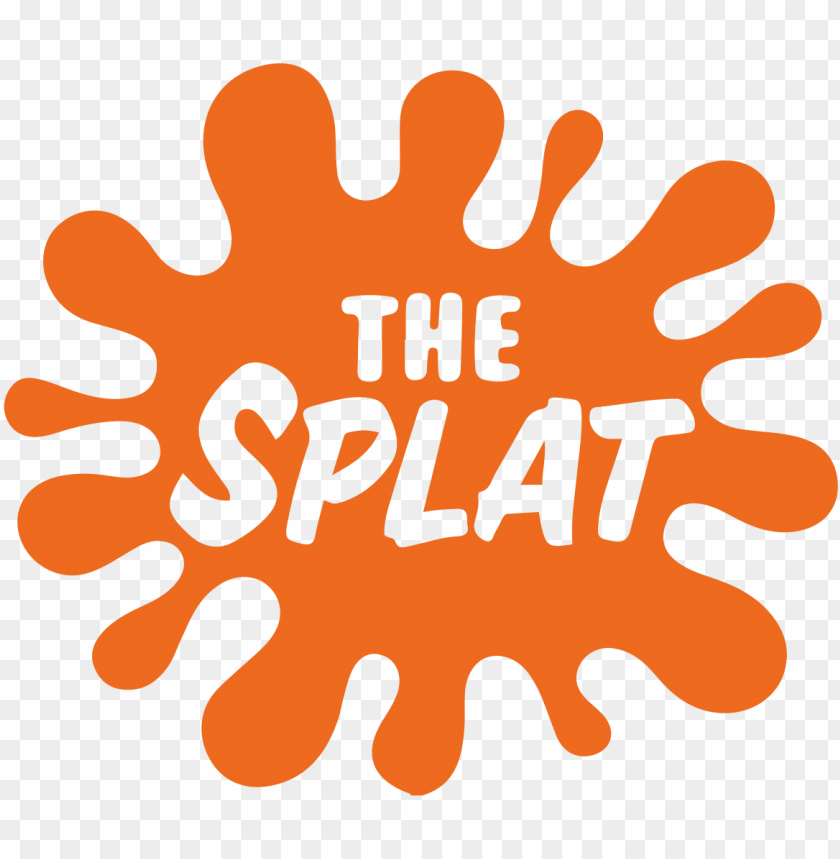 The Splat Splat Coloring The 90s Nickelodeon Png Image With Transparent Background Toppng