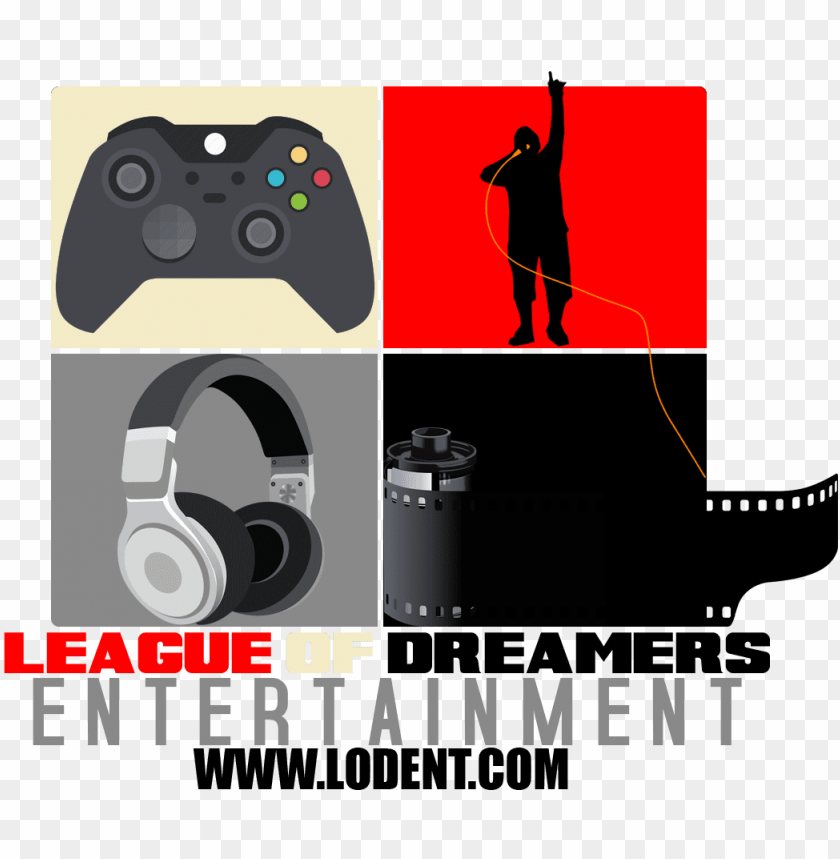 free PNG the uncut knowledge podcast dreamersleaguelogo1 - game controller PNG image with transparent background PNG images transparent