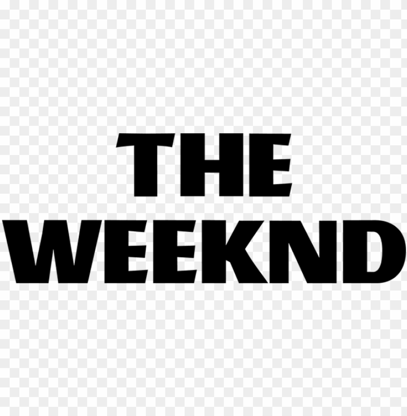 free PNG the weeknd, firefly music festival - transparent the weeknd logo PNG image with transparent background PNG images transparent