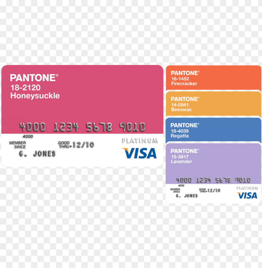 free PNG then i remembered seeing these pantone credit cards - visa logo color code PNG image with transparent background PNG images transparent