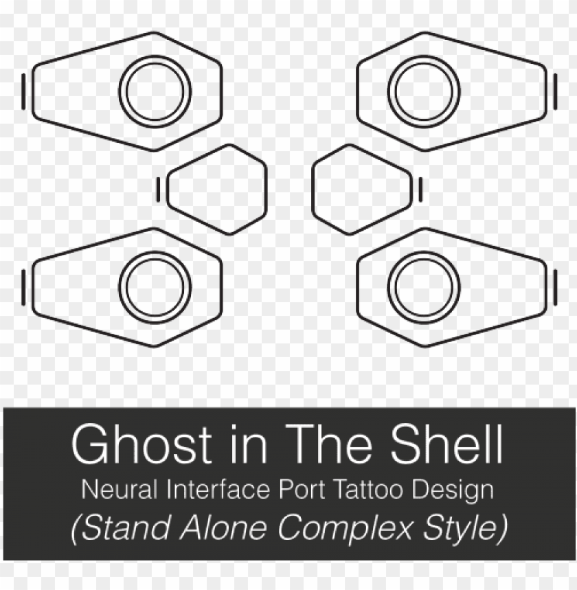 There Are A Bunch Of These Floating Around But They Re Ghost In The Shell Neck Tattoo Png Image With Transparent Background Toppng