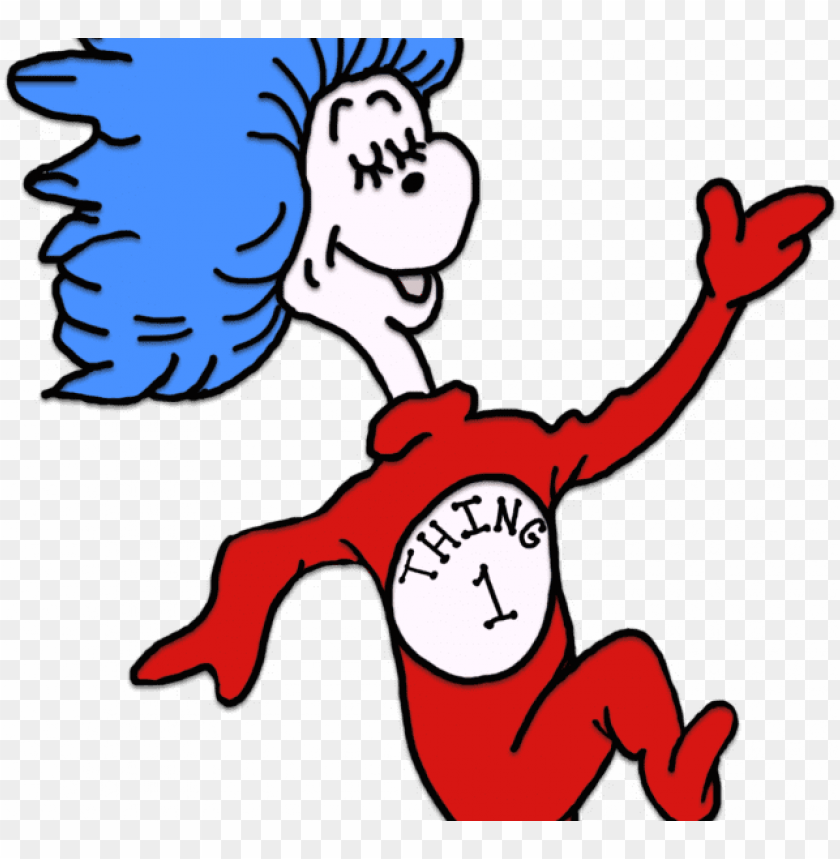 free PNG thing 1dr seuss coloring pages thing 1 and - thing 1dr seuss coloring pages thing 1 and PNG image with transparent background PNG images transparent