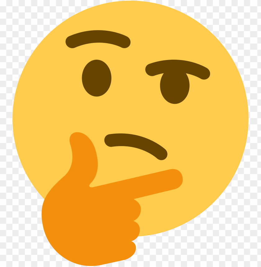 free PNG think emoji discord PNG image with transparent background PNG images transparent