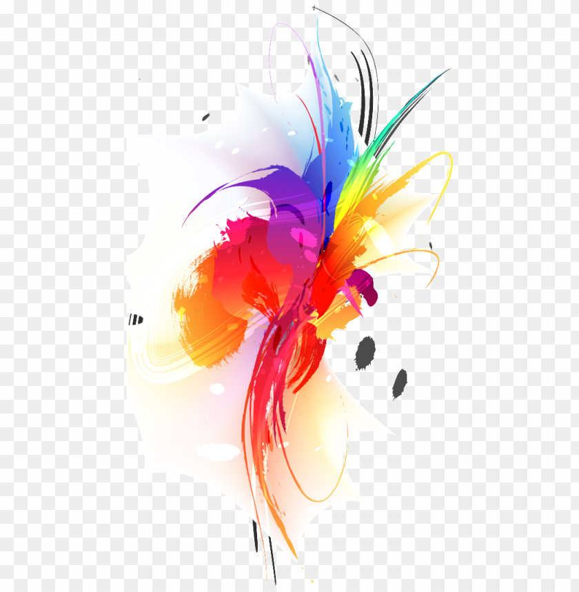 free PNG this backgrounds is colorful splash ink about colorful,splashed - zazzle summer splash ba PNG image with transparent background PNG images transparent