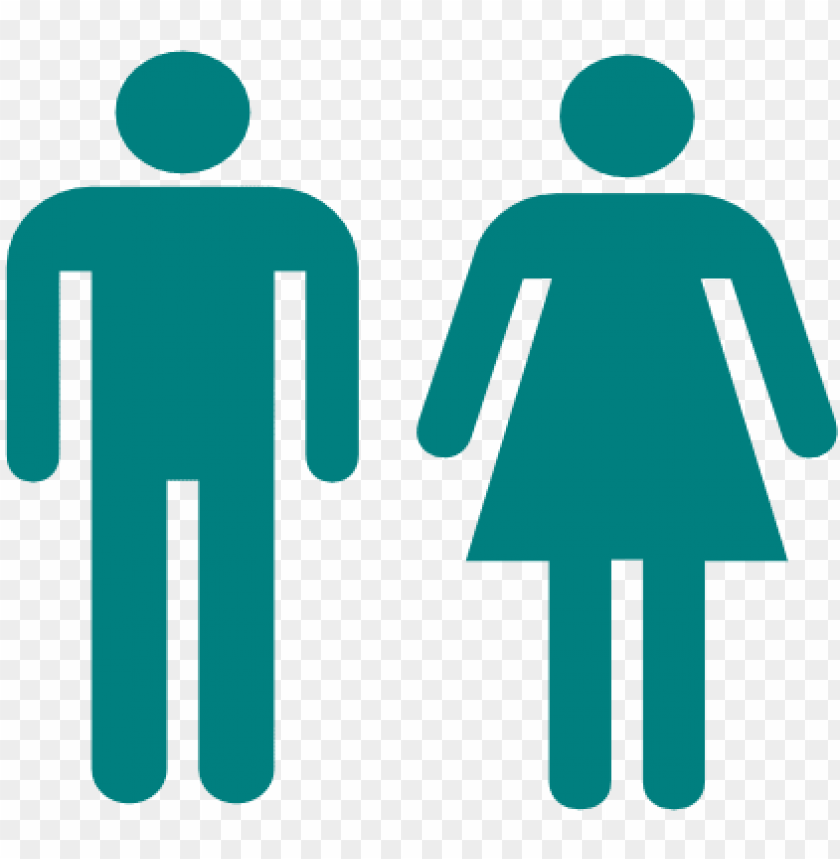 free PNG this free clipart png design of blue man and woman - man and woman stick figure PNG image with transparent background PNG images transparent