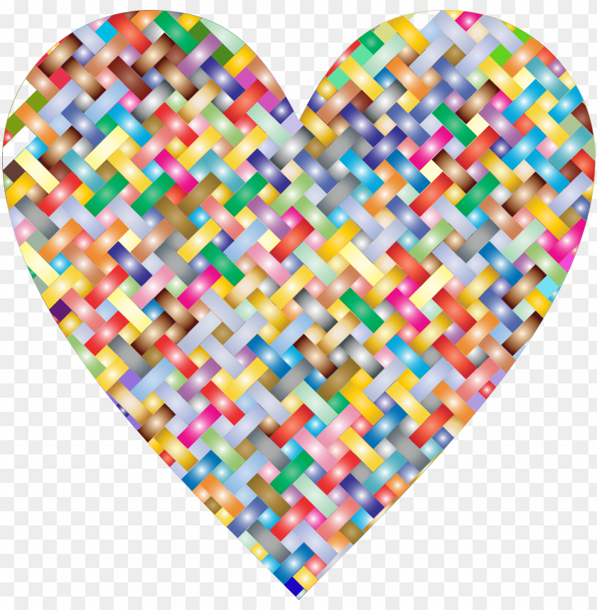 free PNG this free icons png design of colorful heart lattice PNG image with transparent background PNG images transparent