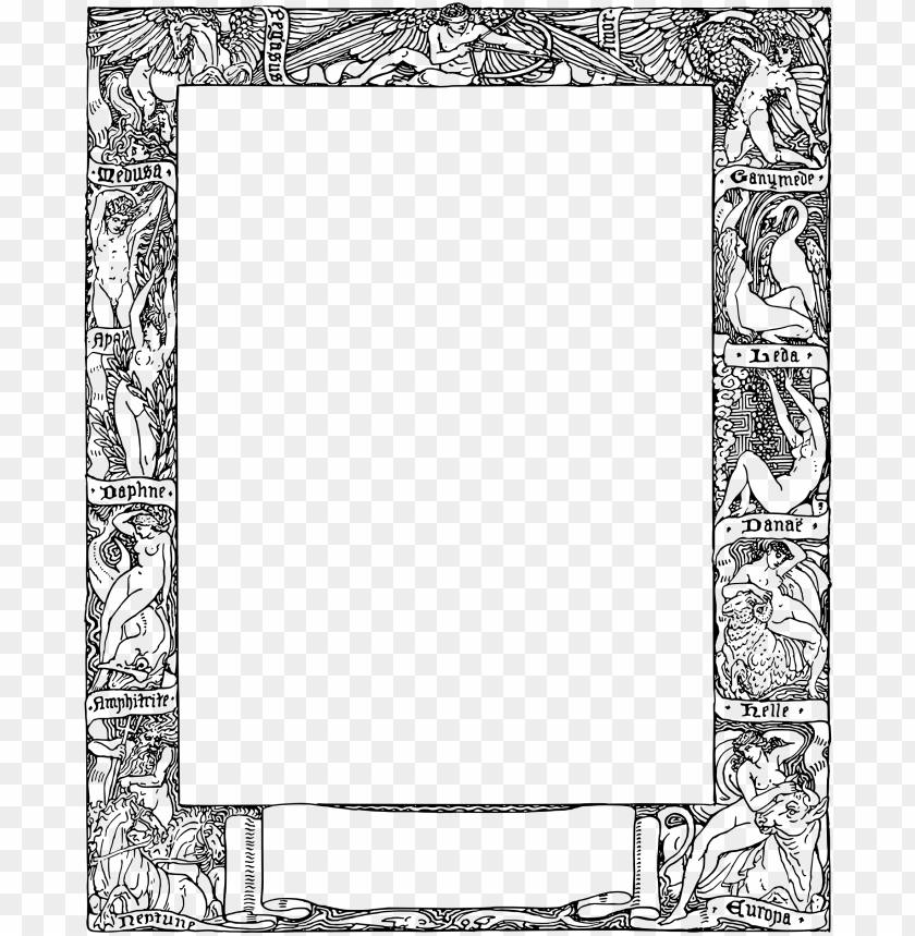 free PNG this free icons png design of greek mythology frame PNG image with transparent background PNG images transparent
