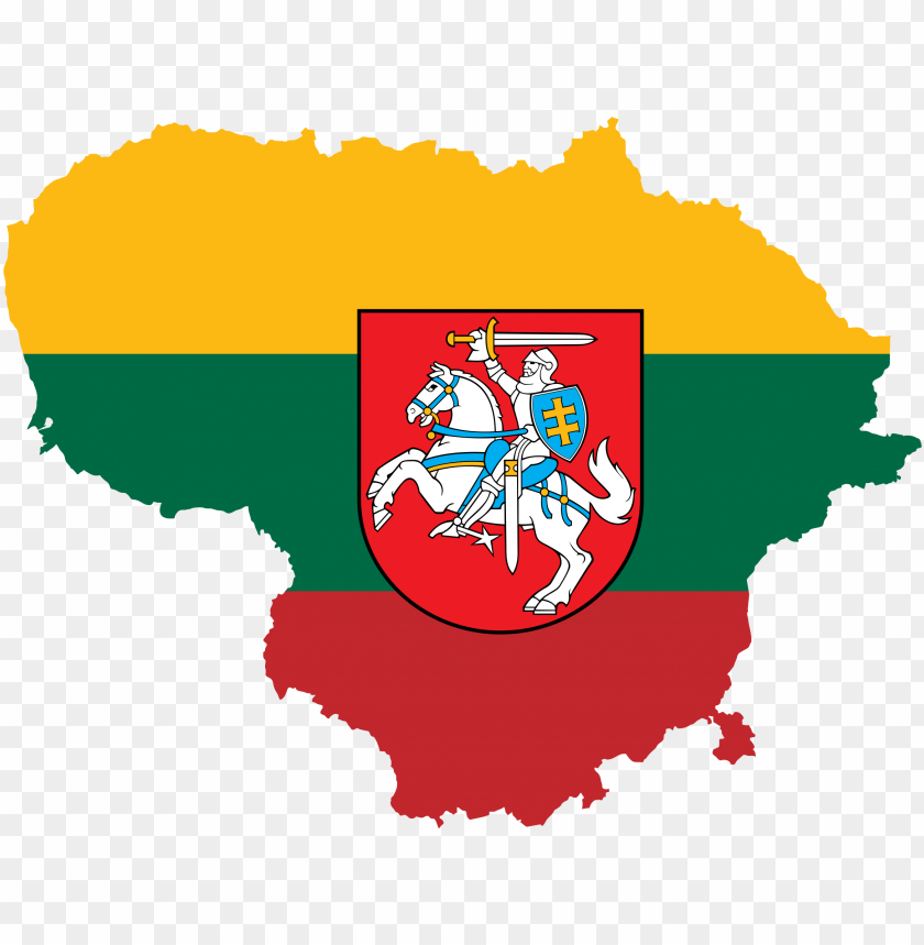 free PNG this free icons png design of lithuania map flag with PNG image with transparent background PNG images transparent