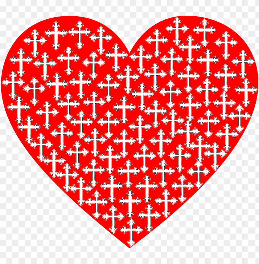 free PNG this free icons png design of love heart crosses PNG image with transparent background PNG images transparent