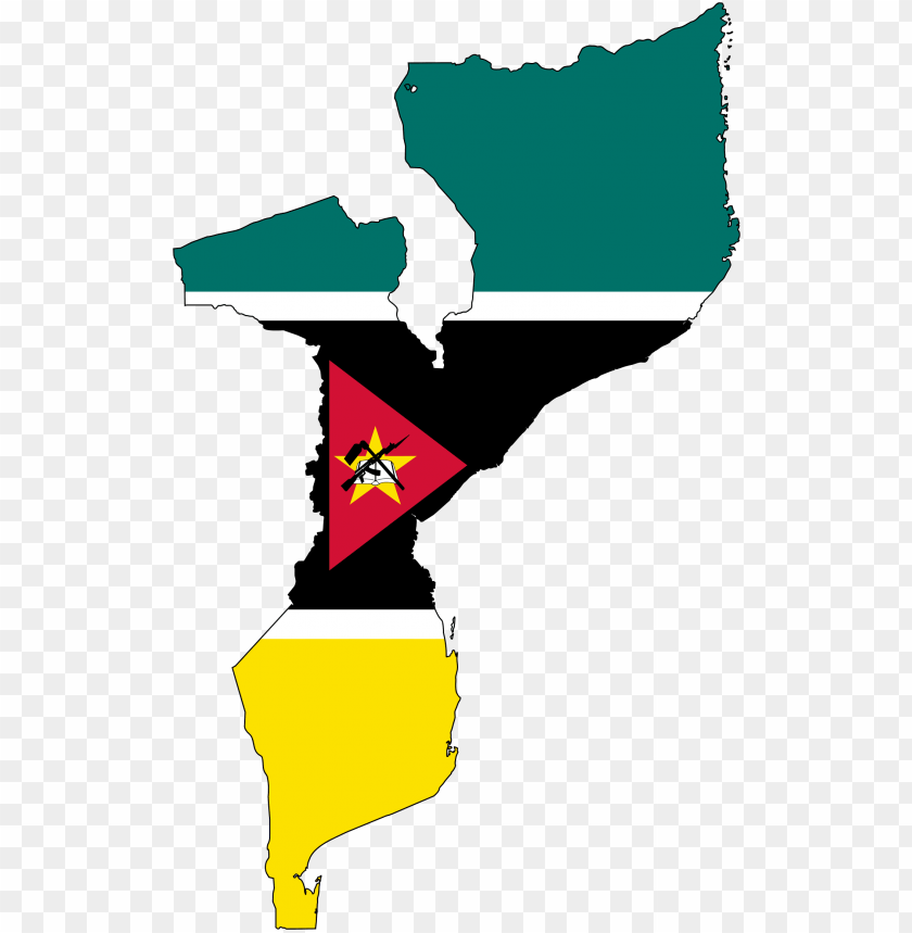 free PNG this free icons png design of mozambique flag map with - mozambique flag and ma PNG image with transparent background PNG images transparent