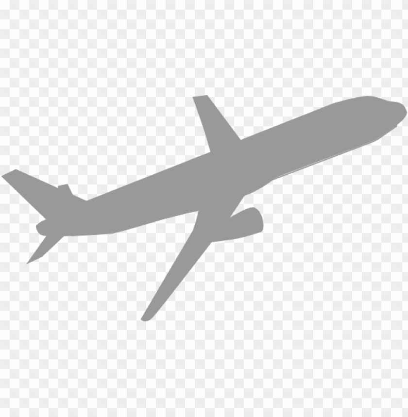 free PNG this freedesign of airplane gray PNG image with transparent background PNG images transparent
