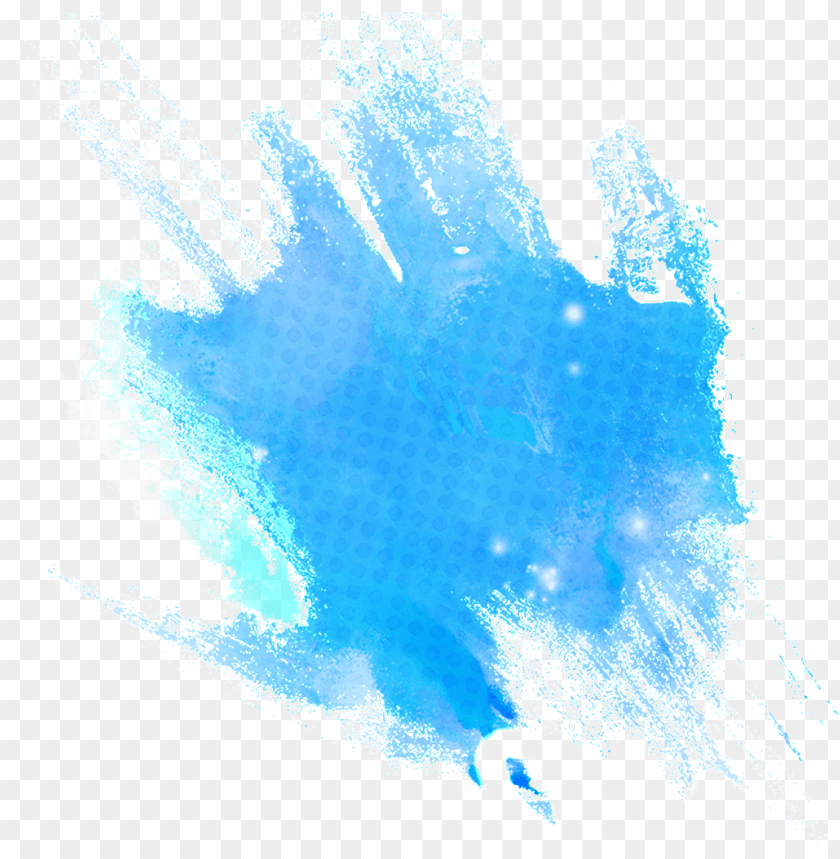 free PNG this graphics is creative blue watercolor transparent - tinta azul PNG image with transparent background PNG images transparent